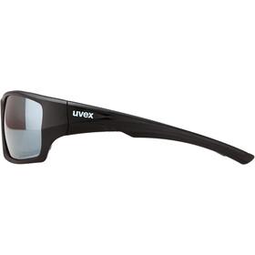 UVEX Sportstyle 222 Pola Glasses black mat/silver